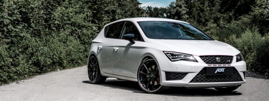 Abt Sportsline turns to SEAT Leon Cupra. Image by ABT.