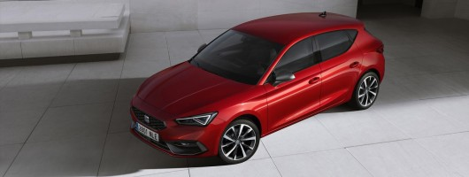 New SEAT Leon ups the design stakes. Image by SEAT.