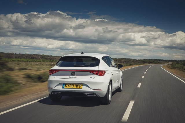 First drive: SEAT Leon Mk4. Image by SEAT UK.