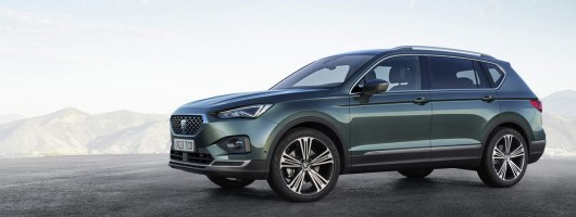 SEAT Tarraco SUV unveiled in full. Image by SEAT.