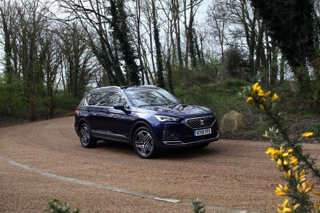 First UK drive: SEAT Tarraco. Image by SEAT.