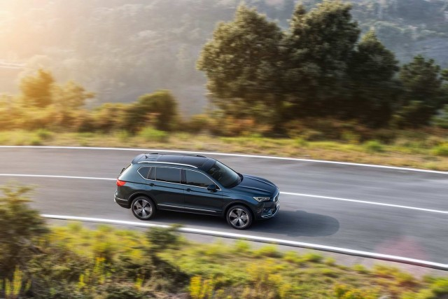 First drive: SEAT Tarraco. Image by SEAT.