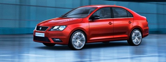Here's the new SEAT Toledo. Image by SEAT.