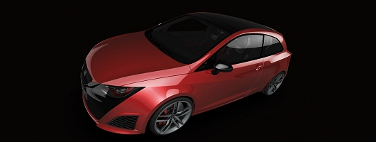 SEAT turns on style with new concept. Image by SEAT.