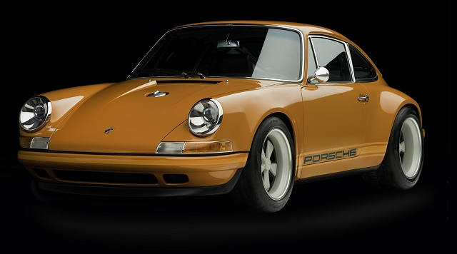 All-new classic 911 by Singer. Image by Singer.