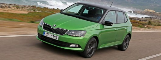 First drive: Skoda Fabia. Image by Skoda.