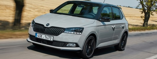 First drive: Skoda Fabia 2019MY. Image by Skoda.