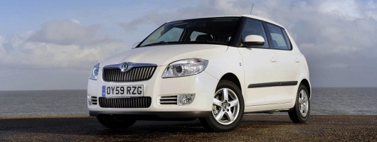 First drive: Skoda Fabia Greenline II. Image by Skoda.