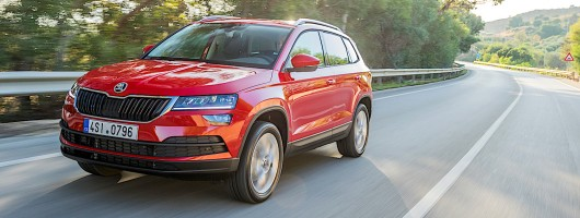 First Drive: Skoda Karoq. Image by Skoda.
