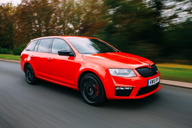 Driven: Skoda Octavia Estate vRS 230. Image by Skoda.