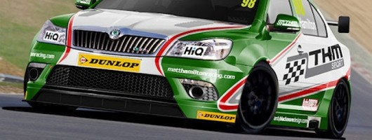 Skoda to tackle the BTCC. Image by Skoda.