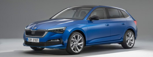 All-new Skoda Scala revealed. Image by Skoda.