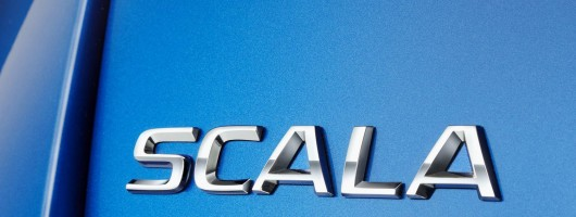 Skoda to name its new hatchback the Scala. Image by Skoda.