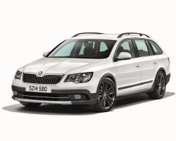 2014 Skoda Superb Outdoor. Image by Skoda.