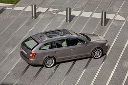 2010 Skoda Superb Estate. Image by Skoda.