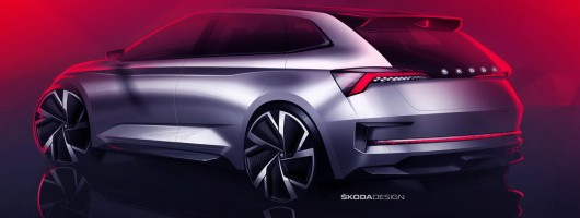 Skoda teases vRS future with Vision RS concept. Image by Skoda.