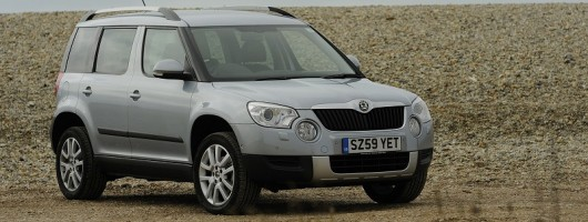Week at the wheel: Skoda Yeti. Image by Skoda.