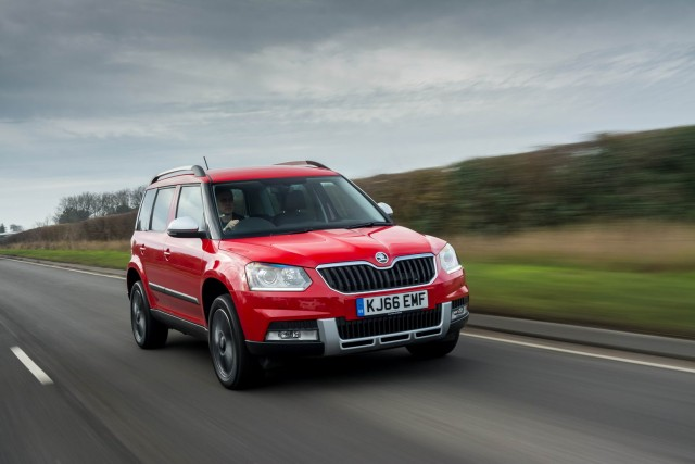 Driven: Skoda Yeti Outdoor. Image by Skoda.