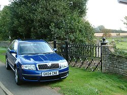 2004 Skoda Superb. Image by James Jenkins.