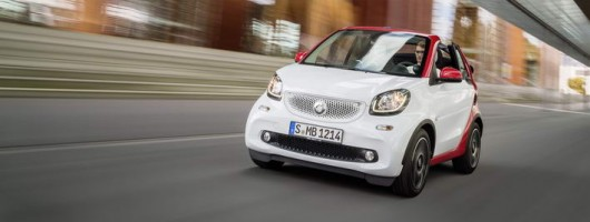 Smart Fortwo Cabrio prices announced. Image by Smart.