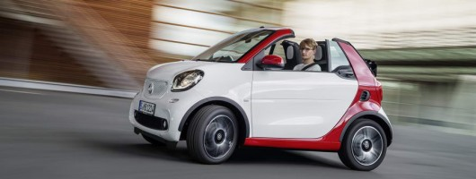 New Cabrio opens up Smart's offerings. Image by Smart.