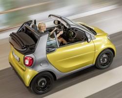 2015 Smart Cabrio. Image by Smart.