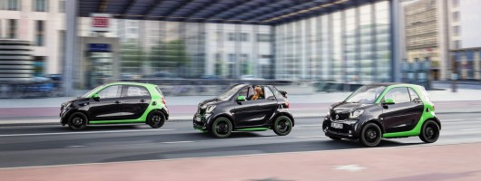 Smart reveals new Electric Drive models. Image by Smart.