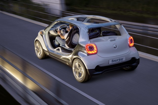 Squint and you're looking at a new Smart. Image by Smart.