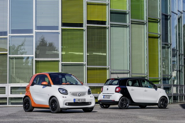 Smart introduces two new models. Image by Smart.