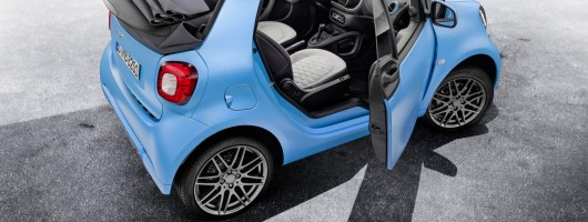 Brabus Edition for Smart Fortwo Cabrio. Image by Smart.