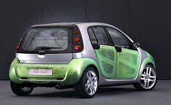 2005 Smart ForFour Style concept. Image by Smart.