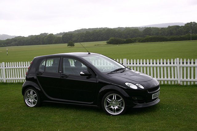 the car enthusiast image gallery 2005 smart forfour brabus. Black Bedroom Furniture Sets. Home Design Ideas