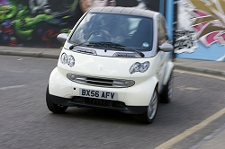 2009 Smart fortwo electric. Image by Charlie Magee.