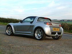2004 Smart Roadster Brabus review. Image by Shane O' Donoghue.