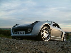 2004 Smart Roadster Brabus. Image by Shane O' Donoghue.