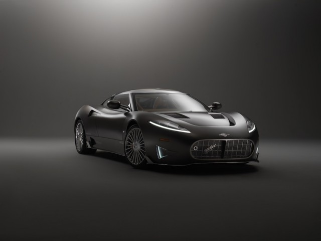 Spyker C8 Preliator can do 201mph. Image by Spyker.
