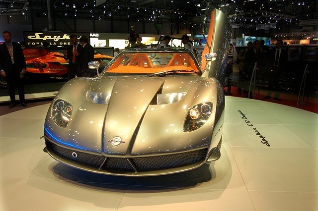 The Car Enthusiast Image Gallery 2007 Spyker C12 Zagato