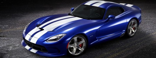 New Viper GTS launched. Image by SRT.