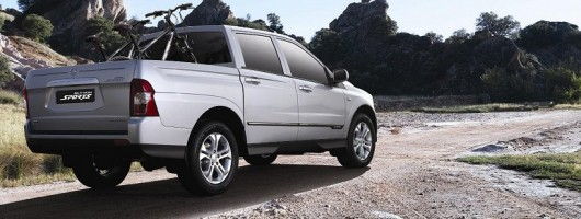 Geneva 2012: SsangYong Actyon Sports. Image by SsangYong.