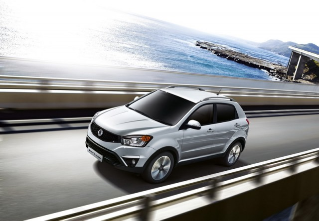 SsangYong Korando gets new look. Image by SsangYong.
