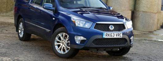Enhanced SsangYong Korando Sports launched. Image by SsangYong.