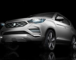 2016 SsangYong LIV-2 concept. Image by SsangYong.