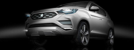 SsangYong LIV-2 previews next-gen Rexton. Image by SsangYong.