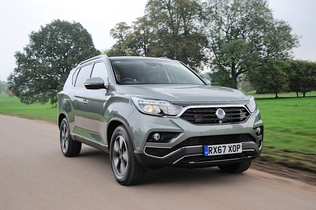 First drive: SsangYong Rexton. Image by SsangYong.