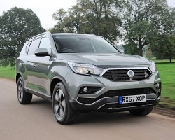SsangYong Rexton 2017. Image by SsangYong.