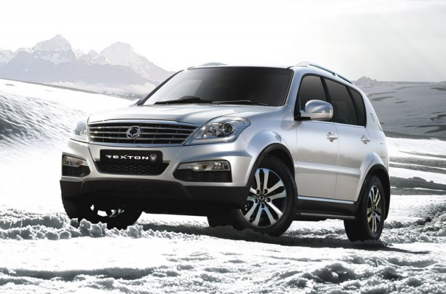 New look for SsangYong Rexton. Image by SsangYong.