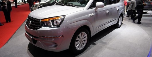 Geneva: SsangYong Rodius redesign. Image by Newspress.