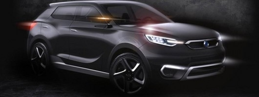 SsangYong previews SIV-1 concept. Image by SsangYong.