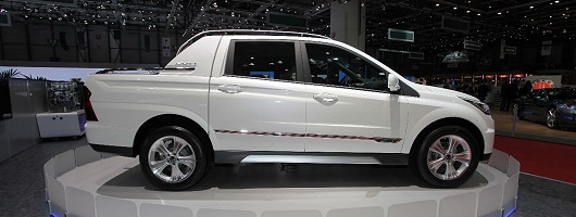 SsangYong announces electric cars. Image by Newspress.