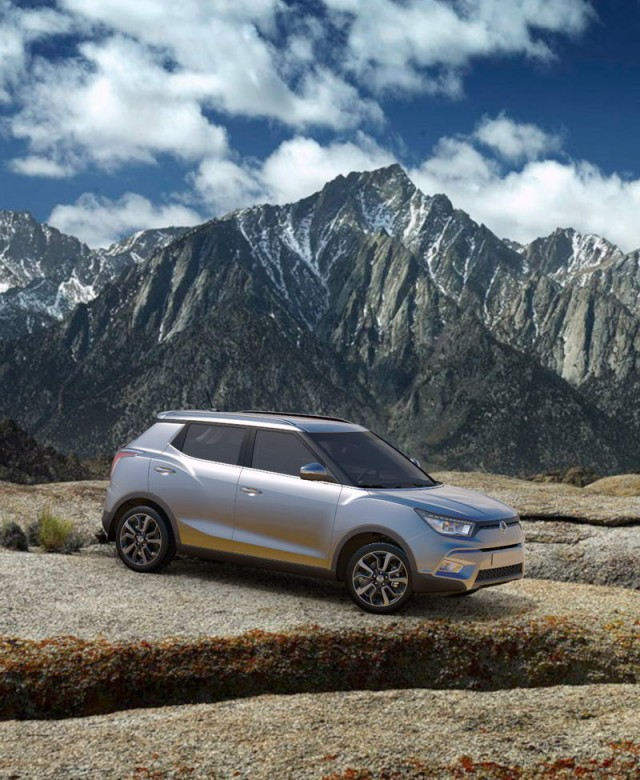 SsangYong Tivoli prices and specifications. Image by SsangYong.
